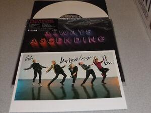 Franz-Ferdinand-Always-Ascending-LP-180g-White-Vinyl-Neu-amp-OVP-incl-Poster