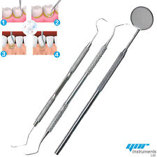 YNR Dental Kit Tooth Scraper Mirror Scale Set Tartar Calculus Plaque Remover