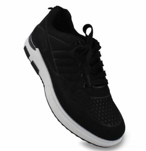 Bert Low Cut High Quality Sports Training Running Rubber Shoes BLACK SIZE 40