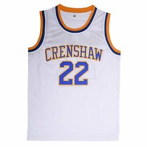Love-and-Basketball-Quincy-McCall-22-Crenshaw-High-School-Basketball-Jersey