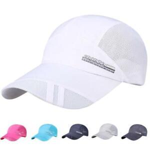 Unisex-Men-Sport-Baseball-Mesh-Hat-Running-Visor-Quick-drying-Cap-Summer-Outdoor