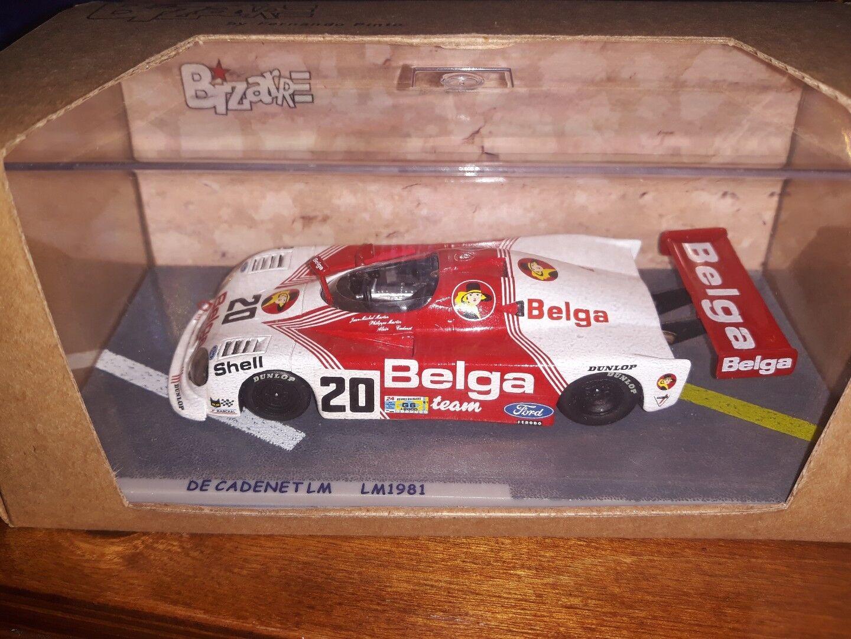 Bizarre 1 43 De Cadenet LM Belga Le Mans 1981 BZ80