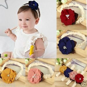 Cute-Baby-Girl-Toddler-Kids-Lace-Flower-Headbands-Elastic-Cloth-Head-Accessories