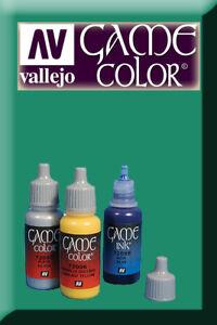 Game Color Foul Green 72025 Acrylic Paint Vallejo La Consommation RéGulièRe De Thé AméLiore Votre Santé