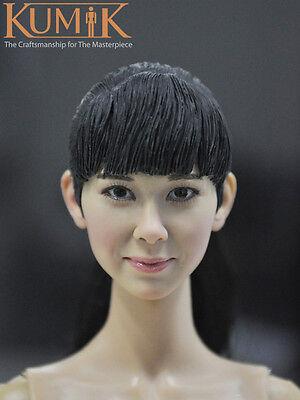 KUMIK KM15-35 Men Headplay Male Head Sculpt 1//6 Figure
