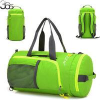 Reusable Folding Handbag Storage Travel Luggage Shoulder Bag Pouch Tote Backpack