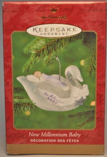 New Millennium Baby Hallmark 2000 Keepsake Ornament