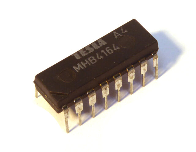 MHB4164 TESLA 4164 64K x 1 DRAM Dynamic RAM