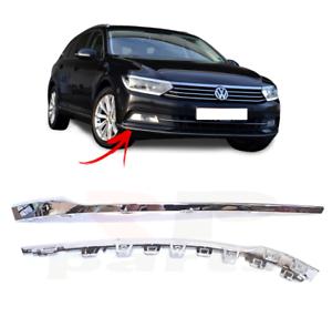 VW PASSAT CC New Genuine Rear Left Bumper Chrome Trim Molding N//S 3C8807459B2ZZ