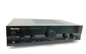 PIONEER-A-307R-Stereo-Integrated-Amplifier-90-WRMS-Vintage-1998-Lik-NEW-With-Box