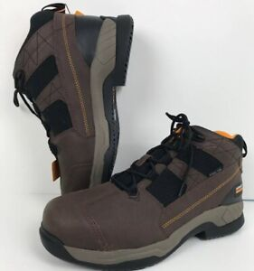 942d88ccef0 Ariat Contender Work Boot 13EE 10018552 Brown Steel Toe | eBay