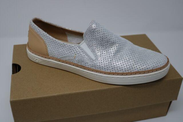 82f6deea147 UGG Australia Adley Perf Stardust Silver 1019611 Slip on Fashion SNEAKERS