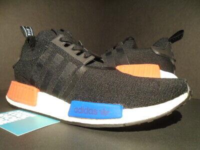 Details about Adidas NMD R1 Runner PK PRIMEKNIT Core Black Red Blue OG 13 S79168 ultra Boost