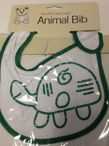 BEAUTIFUL BEGINNINGS ANIMAL STYLE CHILD KIDS BABY BIB  HYGIENIC FOOD CATCHER