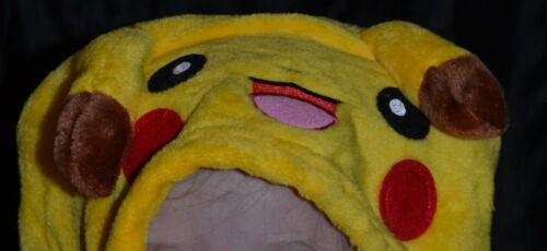 Pikachu Pokemon Full Halloween Costumes Fits Kids Size 12-13-14 XL Girls Or Boys