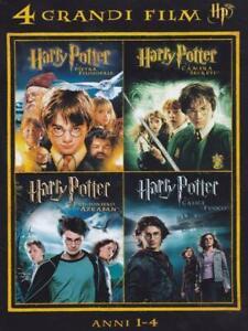 DVD-HARRY-POTTER-8-FILM-COLLEZIONE-COMPLETA-2-COFANETTI-DA-4-ITALIANO-SIGILLATI