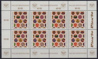 Kleinbogen Postfrisch Ansehen Top i165#4 Mw 15,- Romantic Österreich: ** Mi 1990
