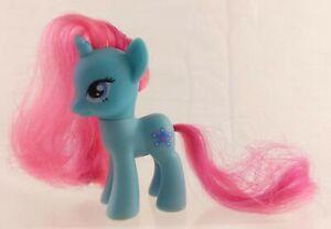 My Little Pony G4 FiM Snowcatcher Aqua/Pink Unicorn Snowflake