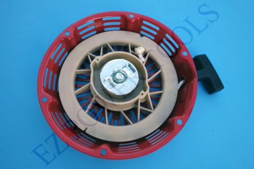 Homelite HGCA4500 HGCA5000 4500 5000 5625 6250 Watt Gas Generator Recoil Starter