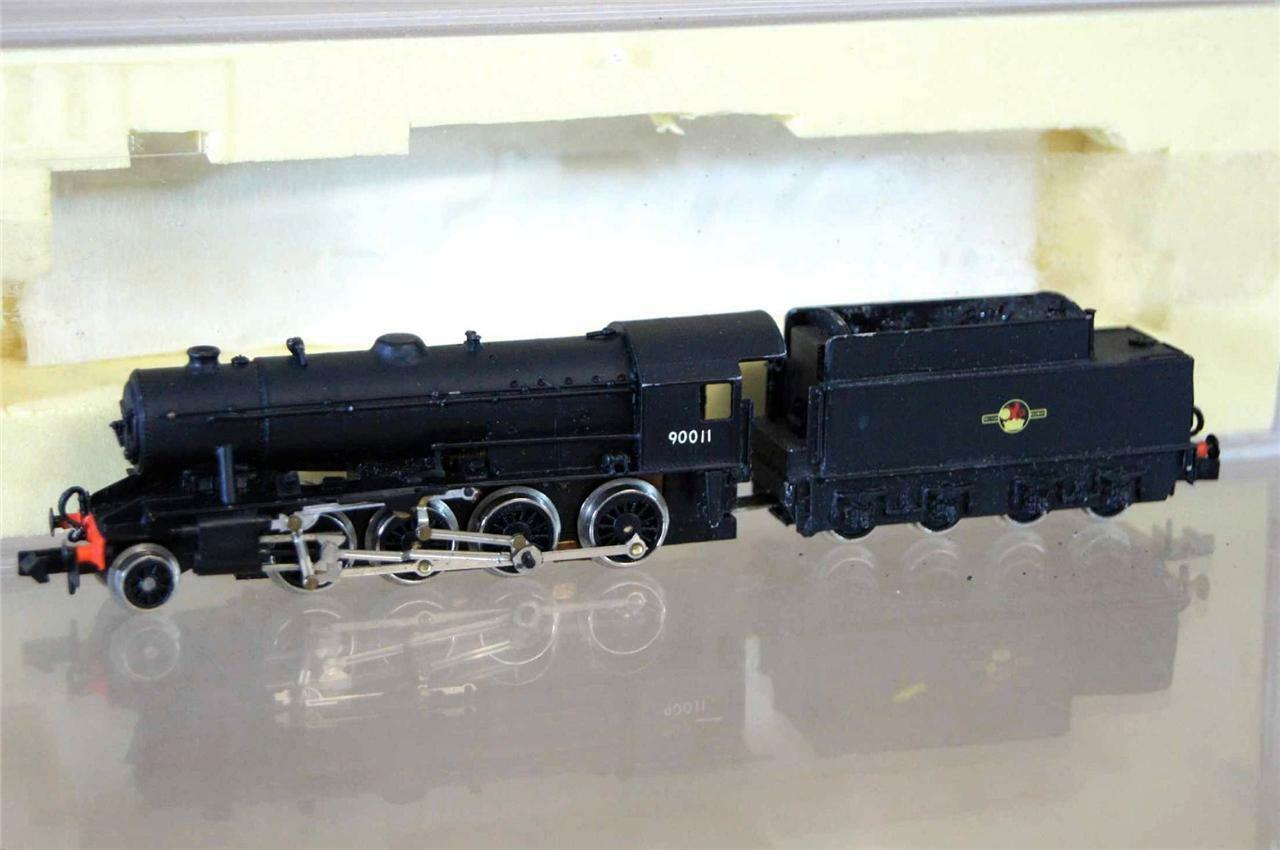 GRAHAM FARISH KIT BUILT LANGLEY BR 2-8-0 CLASS WD LOCO 90011 MINT mx