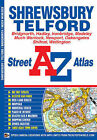 Shrewsbury and Telford Street Atlas by Geographers' A-Z Map Company (Paperback, 2008)