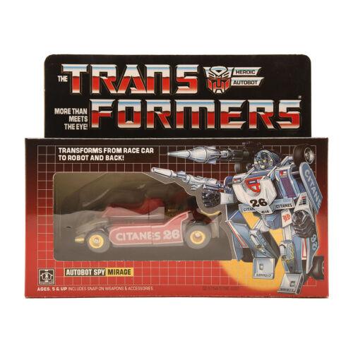 G1 transformers Mirage figure REISSUE BRAND Christmas Gift Kids