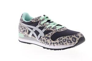 Onitsuka-Tiger-Alvarado-D7J7L-9096-Womens-Black-Low-Top-Sneakers-Shoes-10-5