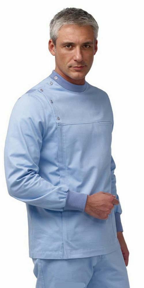 Casacca Uomo Medico Dentista Farmacia M L Celeste IN 5 GIORNI
