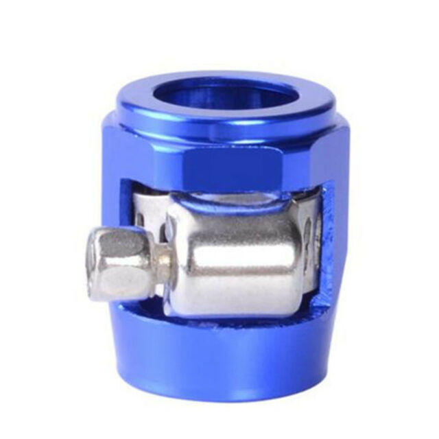 Fuel Hose Line End Cover Clamp Finisher Adapter Fitting Connectors AN4 6 8 10