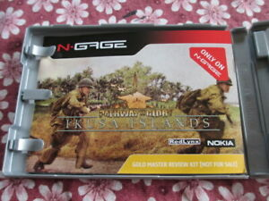 N-Gage-Pathway-to-Glory-Ikusa-Islands-Gold-Master-Review-Press-Kit-w-Media-CD