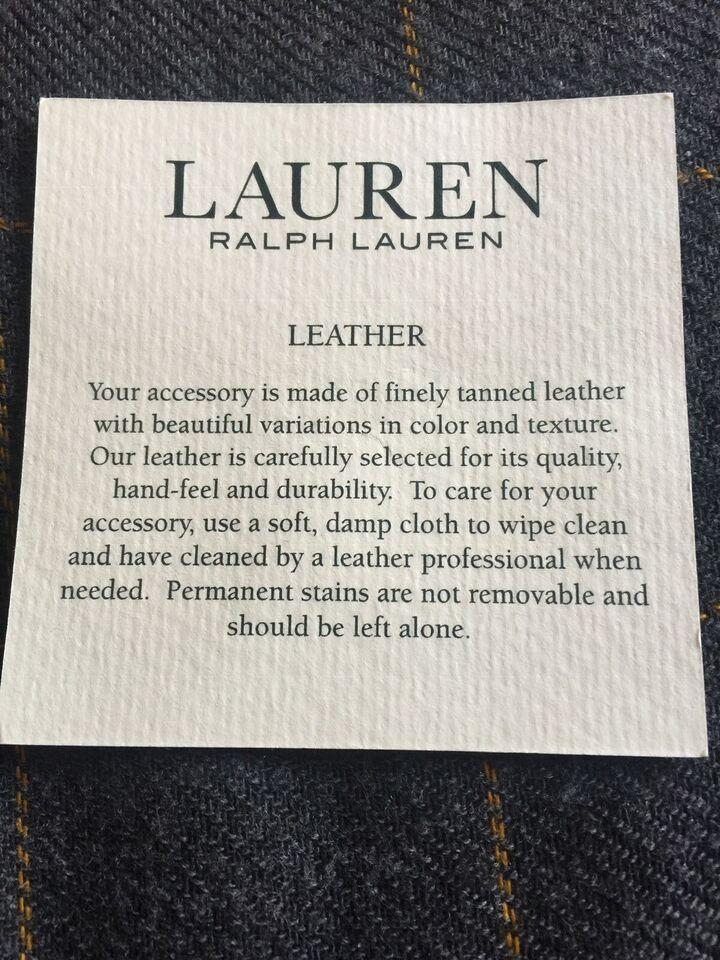 Crossbody, Ralph Lauren, læder