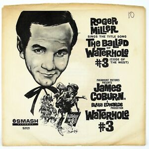 ROGER-MILLER-Ballad-Of-Waterhole-3-Rainbow-Valley-7IN-1967-COUNTRY-POP-VG-NM