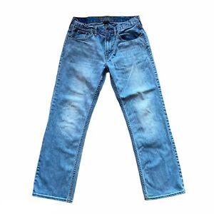 American Eagle Men's Original Straight 31 x 30 light wash Core Flex Jeans