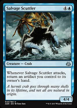 2x Bergungskrabbe Salvage Scuttler Aether Revolt Magic