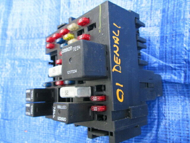 Complete Lh Dash Cabin Relay Fuse Box Assembly Oem Gm 2001 Gmc Yukon Denali