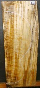 Ambrosia Spalted Curly Maple Wood 9194 Instrument De Bois 21 X 8 X 2.75-afficher Le Titre D'origine Design Moderne