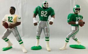 1988 1989 Kenner SLU Starting Lineup Lot Philadelphia Eagles Cunningham White