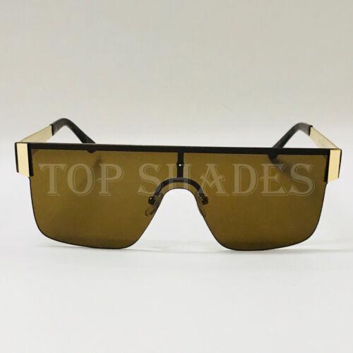 Gafas de Sol Lentes Fashion Large Rimless Square NEW Style Women Men Sunglasses