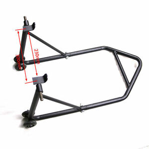 Heavy-Duty-Motorcycle-Stand-Bike-Rear-Wheels-Paddock-Stand-Race-Lift