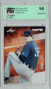 Casey Mize 2018 Leaf HYPE! #11 Only 5000 Made Rookie Card PGI 10