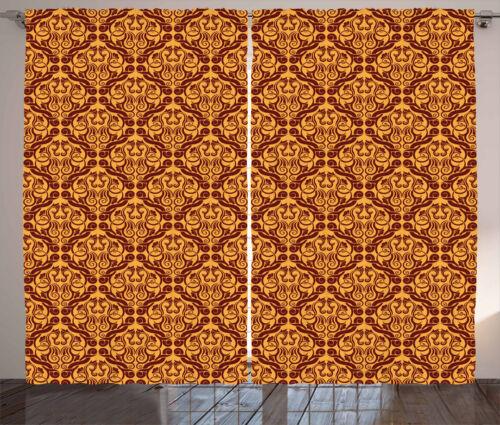 Antique Curtains 2 Panel Set for Decor 5 Sizes Available Window Drapes