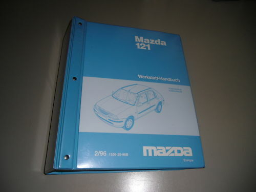 Workshop Manual Electricity Mazda 121 Stand February 1996