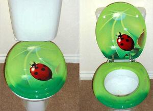 Designer-Novelty-Printed-Toilet-Seat-Ladybird-Ladybug-Design