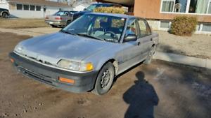 1988 Honda civic sedan