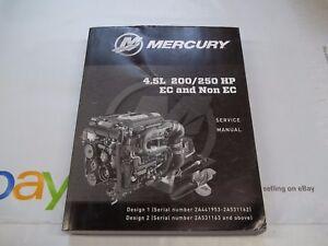 2017 mercury 4 5l 200 250 hp ec non ec dealer factory shop service rh ebay com AMC 390 Engine Borgward Engines