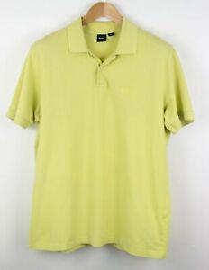 Hugo-Boss-Hombre-Ferno-Cuello-Polo-Camisa-Informal-Talla-XL-SZ374