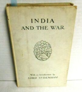 BOOK-India-and-the-War-WW1-op-1st-Ed-1915-15-Color-Plates-from-MacMunn-Lovett