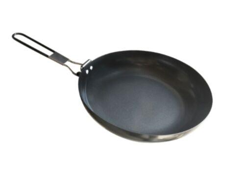 non-Stick Fry Pan avec poignée repliable pour Camping environ 24.13 cm Alpine Mountain Gear 9.5 in