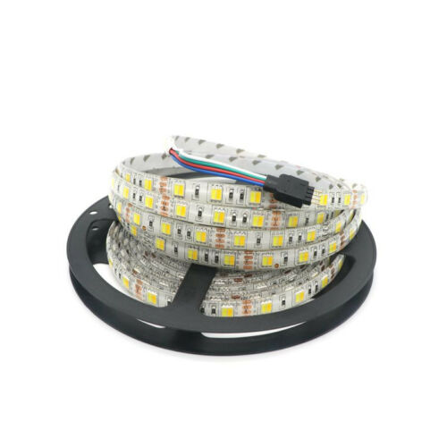 LED Strip Light SMD 5050 60Leds//M 5M Dual White//Warm White Double Color DC 12V