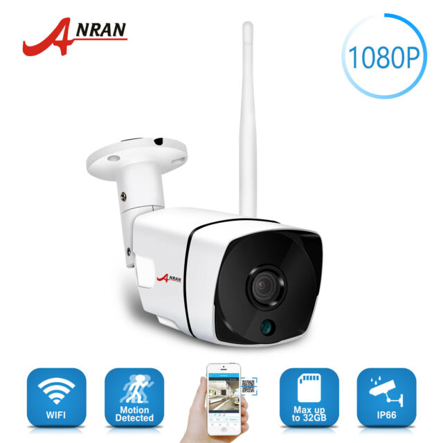 ANRAN Home 1080P Wireless IP Camera Outdoor Wifi Security IR Night Vision Bullet